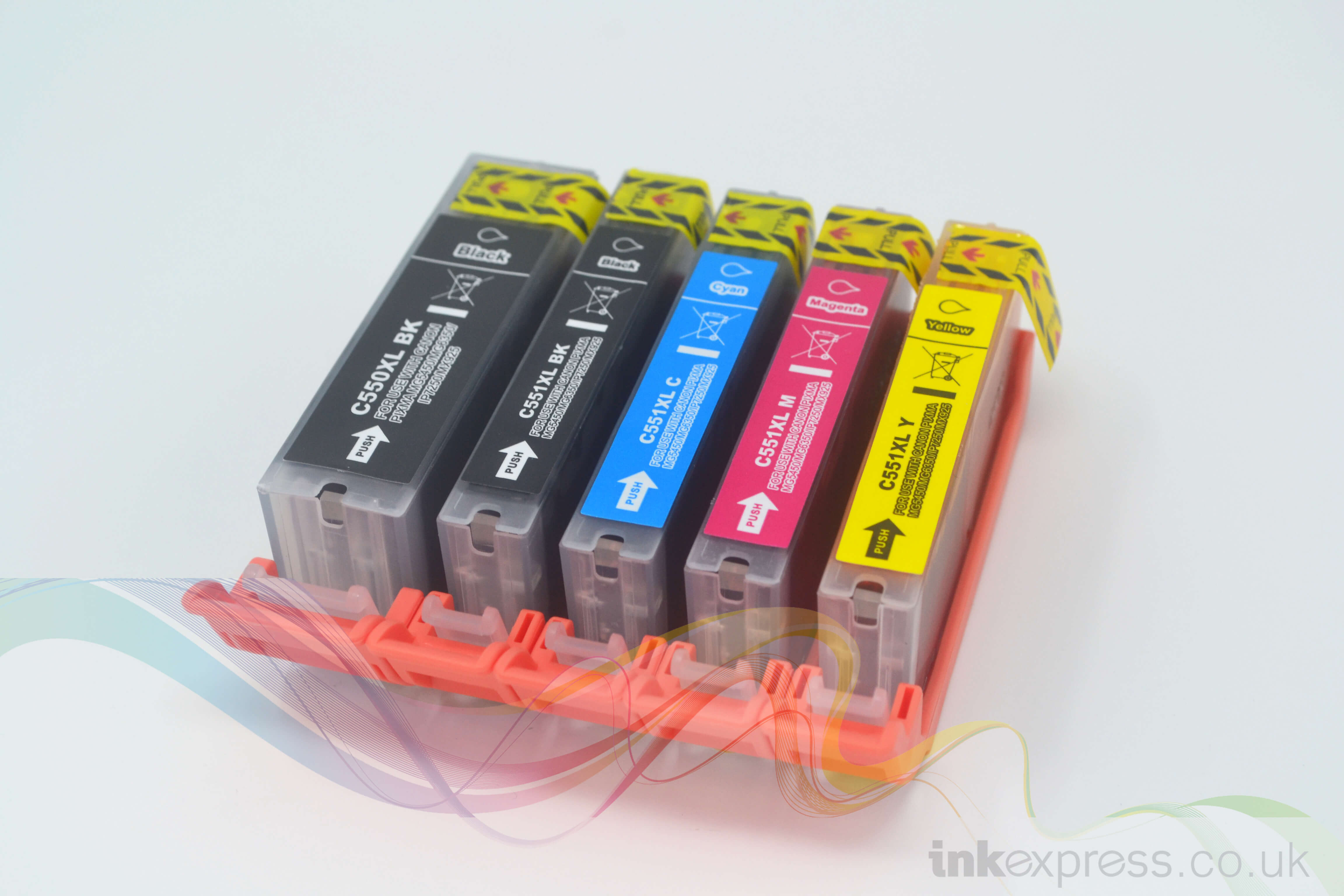 Compatible Canon Cli 551 And Pgi 550 Xl Cartridge Set Ink Express