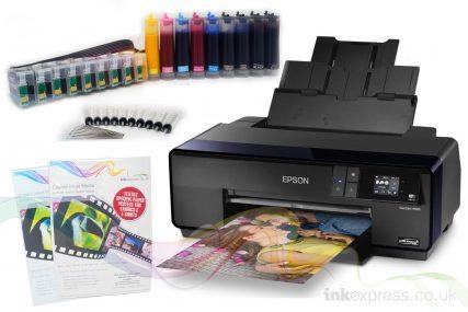 Sublimation Starter Package: EPSON WF-7710DWF - Printer +